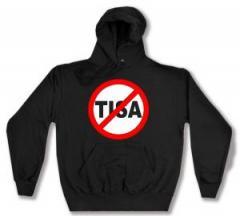 """Zum Kapuzen-Pullover """"Stop TISA"""" für 27,29 € gehen."""
