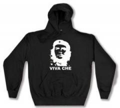 """Zum Kapuzen-Pullover """"Viva Che Guevara (weiß/schwarz)"""" für 27,29 € gehen."""