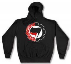"""Zum Kapuzen-Pullover """"Working Class Antifa"""" für 27,00 € gehen."""