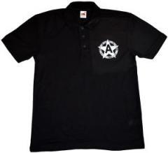 """Zum Polo-Shirt """"Kein Gott - Kein Staat - Kein Herr - Kein Sklave"""" für 16,00 € gehen."""