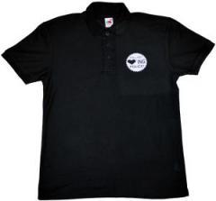 """Zum Polo-Shirt """"Still not loving police!"""" für 15,60 € gehen."""