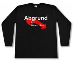 """Zum Longsleeve """"Abgrund für Deutschland"""" für 13,00 € gehen."""