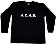 """Zum Longsleeve """"A.C.A.B."""" für 13,00 € gehen."""