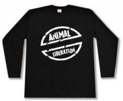 """Zum Longsleeve """"Animal Liberation"""" für 13,00 € gehen."""