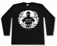 """Zum Longsleeve """"Antifa Hooligan"""" für 16,00 € gehen."""