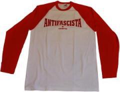 """Zum Longsleeve """"Antifascista Siempre"""" für 13,00 € gehen."""