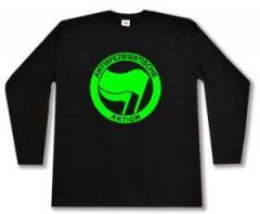 """Zum Longsleeve """"Antispeziesistische Aktion (grün/grün)"""" für 13,00 € gehen."""