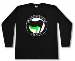 """Zum Longsleeve """"Antispeziesistische Aktion (schwarz/grün)"""" für 14,00 € gehen."""