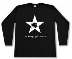 """Zum Longsleeve """"Der Kampf geht weiter!"""" für 12,67 € gehen."""