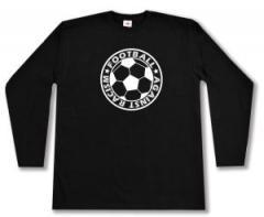 "Zum Longsleeve ""Football against racism"" für 13,00 € gehen."