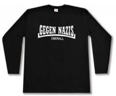 """Zum Longsleeve """"Gegen Nazis Überall"""" für 13,00 € gehen."""