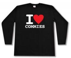 "Zum Longsleeve ""I love commies"" für 13,00 € gehen."