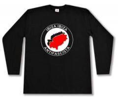 "Zum Longsleeve ""Ibiza Ibiza Antifascista"" für 13,00 € gehen."
