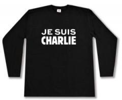 """Zum Longsleeve """"Je suis Charlie"""" für 13,00 € gehen."""