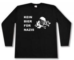 """Zum Longsleeve """"Kein Bier für Nazis"""" für 13,00 € gehen."""