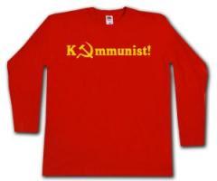 """Zum Longsleeve """"Kommunist!"""" für 12,67 € gehen."""