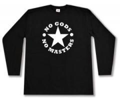 """Zum Longsleeve """"No Gods No Masters"""" für 12,67 € gehen."""