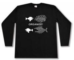 """Zum Longsleeve """"Organize! Fische"""" für 13,00 € gehen."""