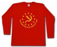 """Zum Longsleeve """"Proletarier aller Länder impft Euch!"""" für 13,00 € gehen."""