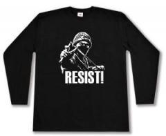 """Zum Longsleeve """"Resist!"""" für 13,00 € gehen."""