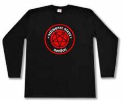 """Zum Longsleeve """"Schwarze Szene Nazifrei - Rotes Pentagramm"""" für 17,00 € gehen."""