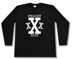 """Zum Longsleeve """"Straight Edge"""" für 13,00 € gehen."""