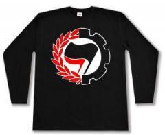 """Zum Longsleeve """"Working Class Antifa"""" für 13,00 € gehen."""