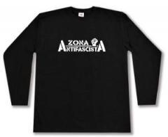 """Zum Longsleeve """"Zona Antifascista"""" für 13,00 € gehen."""