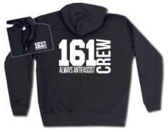 """Zur Kapuzen-Jacke """"161 Crew Always Antifascist"""" für 30,00 € gehen."""