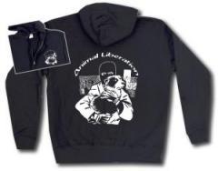 """Zur Kapuzen-Jacke """"Animal Liberation (Hund)"""" für 30,00 € gehen."""