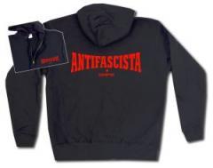 """Zur Kapuzen-Jacke """"Antifascista siempre"""" für 30,00 € gehen."""