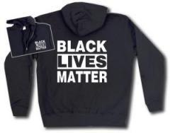 """Zur Kapuzen-Jacke """"Black Lives Matter"""" für 30,00 € gehen."""