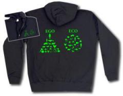 """Zur Kapuzen-Jacke """"Ego - Eco"""" für 30,00 € gehen."""