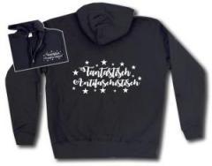"""Zur Kapuzen-Jacke """"Fantastisch Antifaschistisch (weiß)"""" für 29,24 € gehen."""