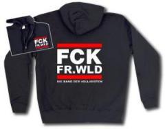 """Zur Kapuzen-Jacke """"FCK FR.WLD"""" für 30,00 € gehen."""