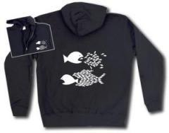 """Zur Kapuzen-Jacke """"Fische"""" für 30,00 € gehen."""