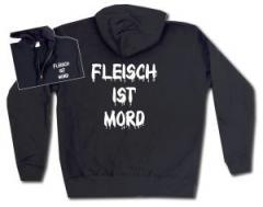 """Zur Kapuzen-Jacke """"Fleisch ist Mord"""" für 30,00 € gehen."""