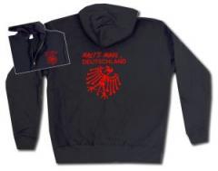 """Zur Kapuzen-Jacke """"Halt's Maul Deutschland"""" für 30,00 € gehen."""