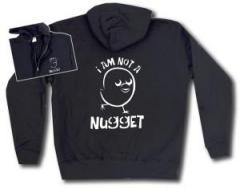 """Zur Kapuzen-Jacke """"I am not a nugget"""" für 30,00 € gehen."""