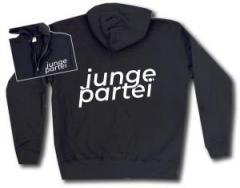 """Zur Kapuzen-Jacke """"Junge Partei"""" für 32,00 € gehen."""