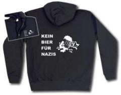 """Zur Kapuzen-Jacke """"Kein Bier für Nazis"""" für 30,00 € gehen."""