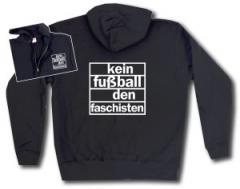 """Zur Kapuzen-Jacke """"Kein Fußball den Faschisten"""" für 29,24 € gehen."""