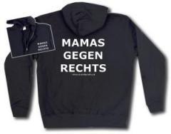 """Zur Kapuzen-Jacke """"Mamas gegen Rechts"""" für 29,24 € gehen."""