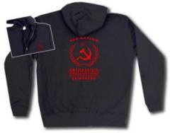 """Zur Kapuzen-Jacke """"Red Action"""" für 30,00 € gehen."""