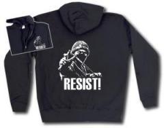 """Zur Kapuzen-Jacke """"Resist!"""" für 30,00 € gehen."""