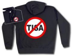 """Zur Kapuzen-Jacke """"Stop TISA"""" für 29,24 € gehen."""