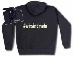 """Zur Kapuzen-Jacke """"#wirsindmehr"""" für 32,00 € gehen."""