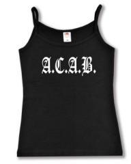 """Zum Top / Trägershirt """"A.C.A.B. Fraktur"""" für 14,50 € gehen."""