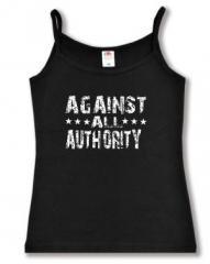 """Zum Trägershirt """"Against All Authority"""" für 12,00 € gehen."""