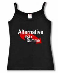 """Zum Top / Trägershirt """"Alternative für Dumme"""" für 14,50 € gehen."""